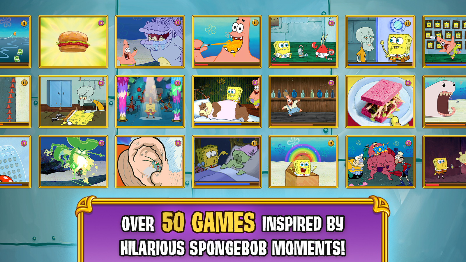 SpongeBob's Game Frenzy - Android Apps on Google Play
