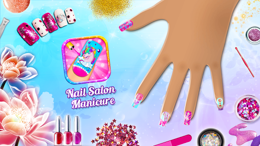 Fashion Nail Salon + Memory Game 1.6 screenshots 1