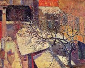 """Photo: Paul Gauguin, """"Parigi sotto la neve"""" (1894)"""