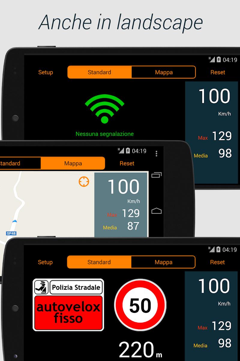 Скриншот Autovelox!