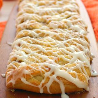 Pumpkin Cream Cheese Breakfast Braid Recipe