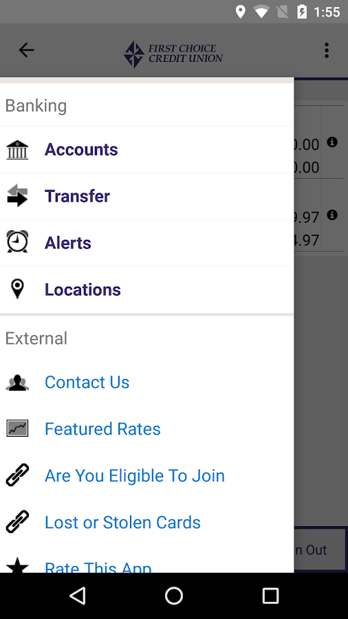 First Choice Mobile Banking- screenshot