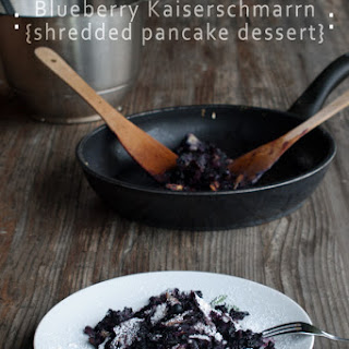 Kaiserschmarrn Recipe With Blueberries {scratch Pancakes}.