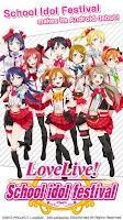 Screenshot of LoveLive! School idol festival