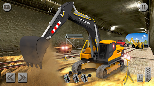 Sand Excavator Truck Driving Rescue Simulator game 5.0 screenshots 8