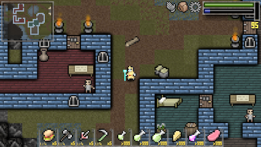 Screenshot for Throne Quest RPG in United States Play Store
