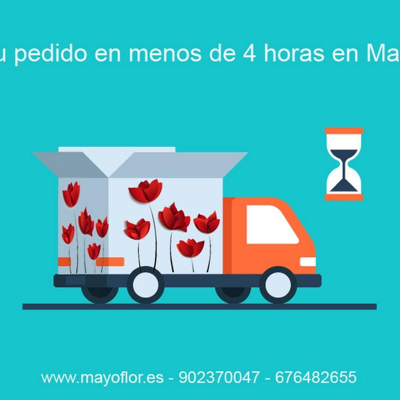 Recibe tu pedido en el mismo día: horarios de entrega de mayoflor en Madrid