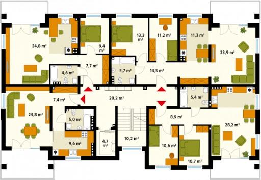 Akant 2 CE - Piętro