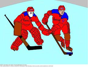 """Photo: Рогатин Дмитрий, Нестеровский лицей, 9 класс,  """"Вот и кубок района по хоккею, начинается чемпионат. Надо доказать, что мы сильнее, точно также как и год назад."""""""