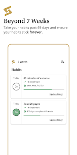 7 Weeks Premium Mod Apk – Simplest Habit and Goal tracking (Premium Features Unlocked) 8
