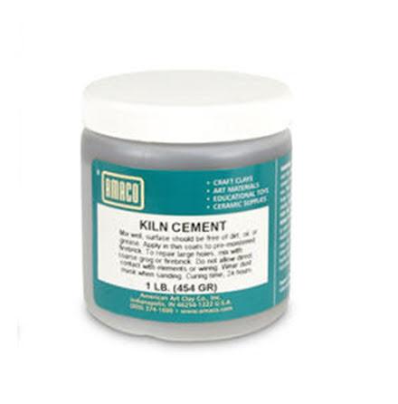 Cement för ugn
