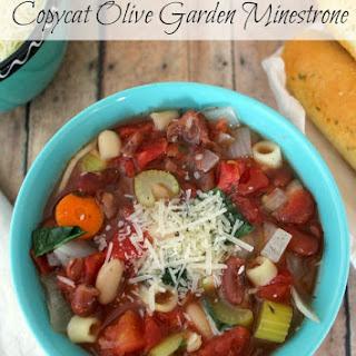 Slow Cooker Copycat Olive Garden Minestrone