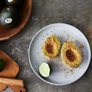 Chicharrones-Encrusted Avocado.