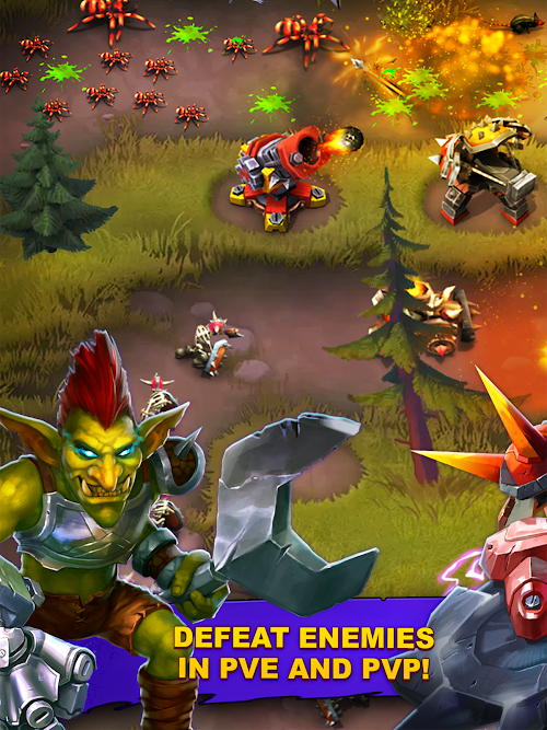 Screenshot 1 Goblin Defenders 2 1.6.487 APK+DATA MOD