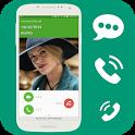 Caller Name Speaker, Speak SMS icon