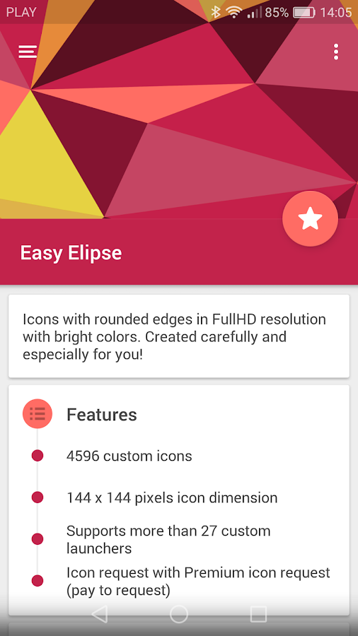 Easy Elipse - icon pack- screenshot