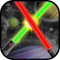 Lightsaber game of wars icon