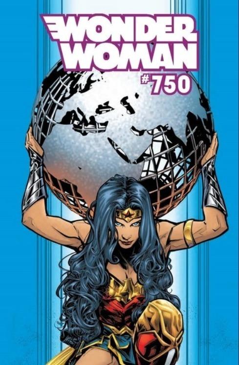 Wonder Woman #750 Standard Cover, by Joelle Jones