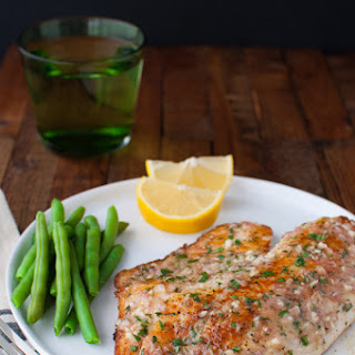 Sautéed Tilapia with Garlic Herb Butter Sauce