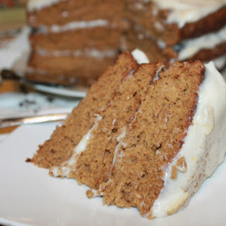 Triple Layer Spice Cake with Cream Cheese Frosting