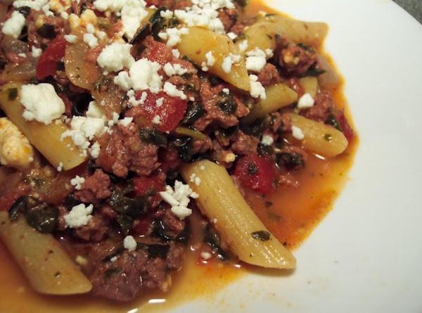 One Pan Greek Skillet Supper Recipe