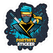 WAStickerApps Battle Royale pegatina