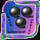 Shoot Spherical Bubbles