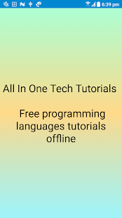 All In One Tech Tutorials - náhled