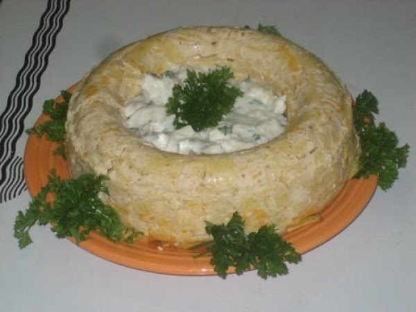 Cheese Noodle Ring Recipe