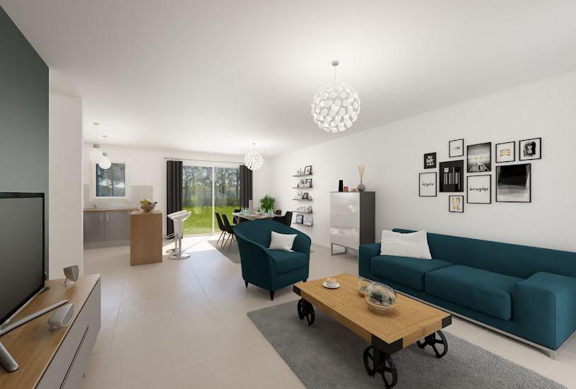 Vente Terrain + Maison - Terrain : 1395m² - Maison : 82m² à Chinon (37500)