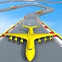 Plane Stunt Racing Plane Games icon