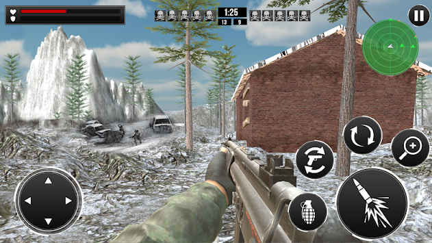 Snow Mountain  Shooting apk screenshot