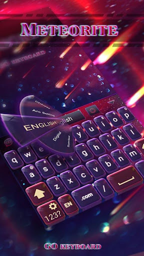 Meteorite Emoji Keyboard Theme