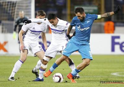 Anderlecht élimine le Zenit dans les arrêts de jeu