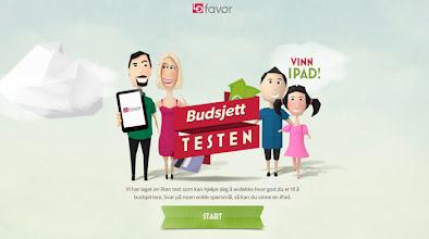 Photo: http://www.awwwards.com/web-design-awards/lofavor-budsjettesten-budget-test
