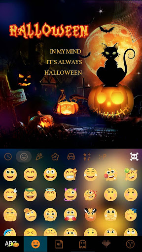 Halloween 2016 Kika Keyboard Screenshot