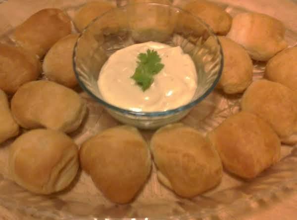 Kielbasa Bites W/ Wasabi Mustard Dip