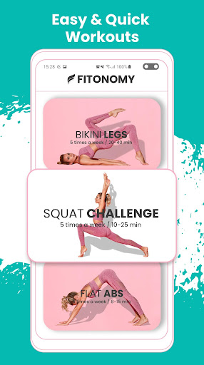 Fitonomy - at Home Workouts and Weight Loss Meals 4.2.6 screenshots 2