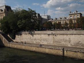 Photo: The Seine river.