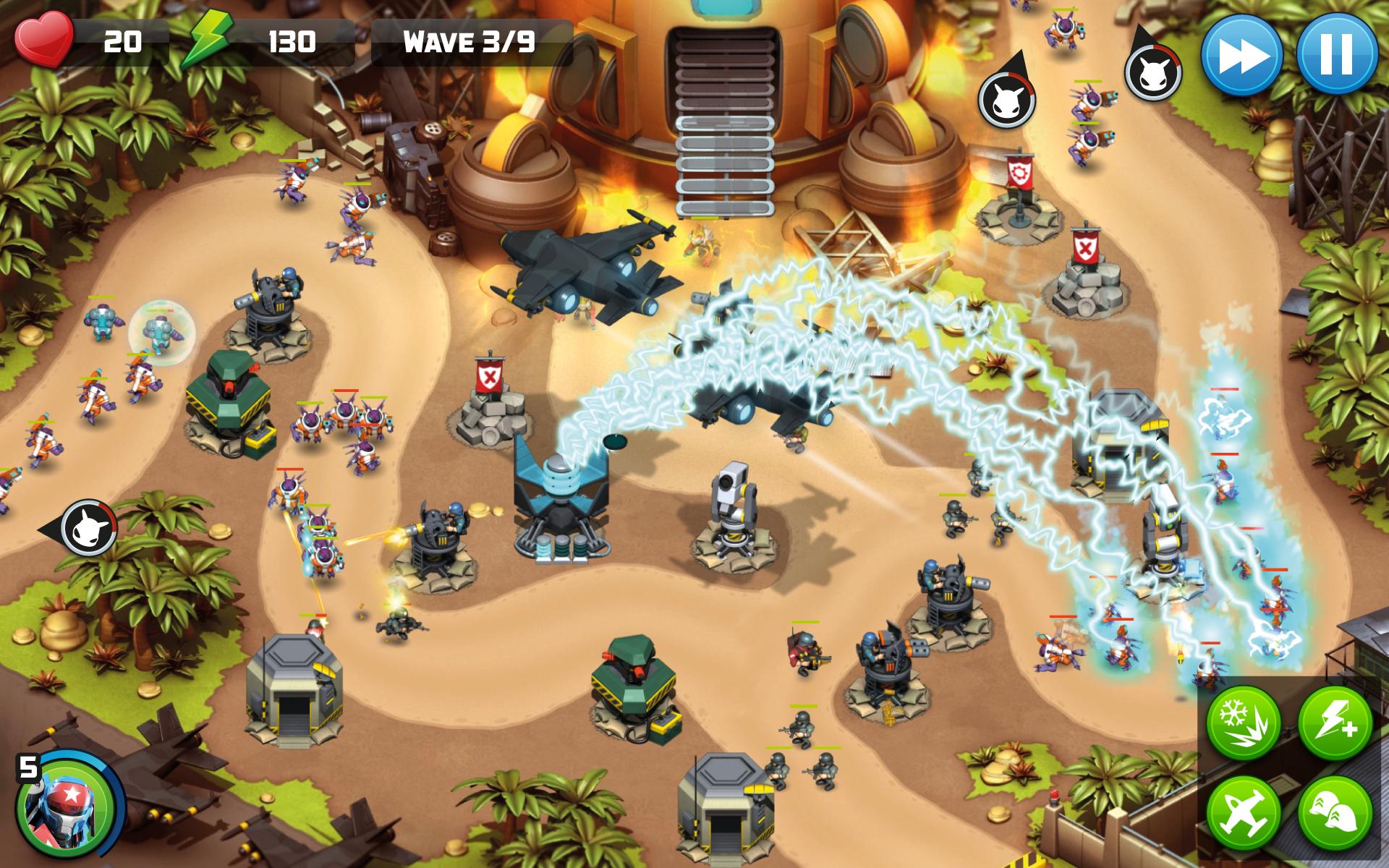 Alien Creeps TD screenshot #18
