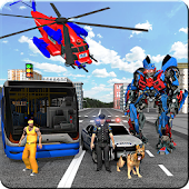 Police Robot Transform: Police Force Story