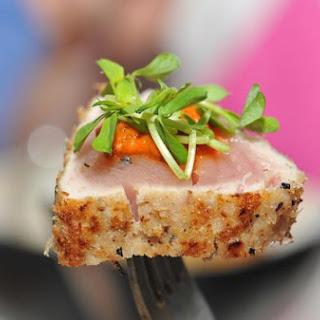 Baharat Panko Crusted Albacore Tuna