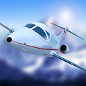 Airplane Fly the Swiss Alps icon