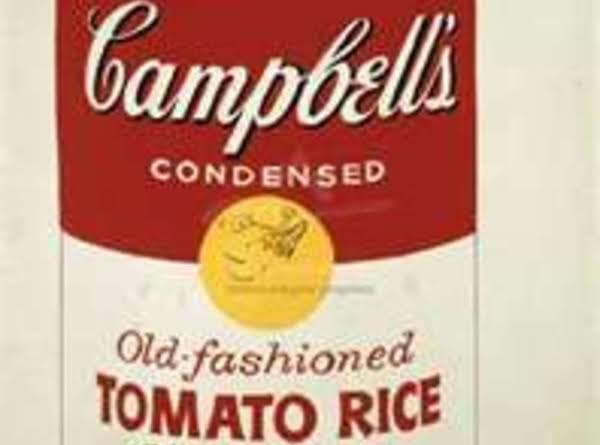 Tomato Rice Soup By Freda Recipe