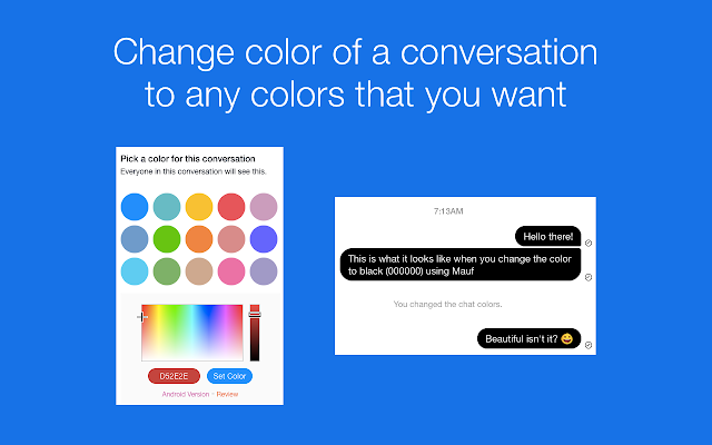 Image result for Customize your conversations fb messenger
