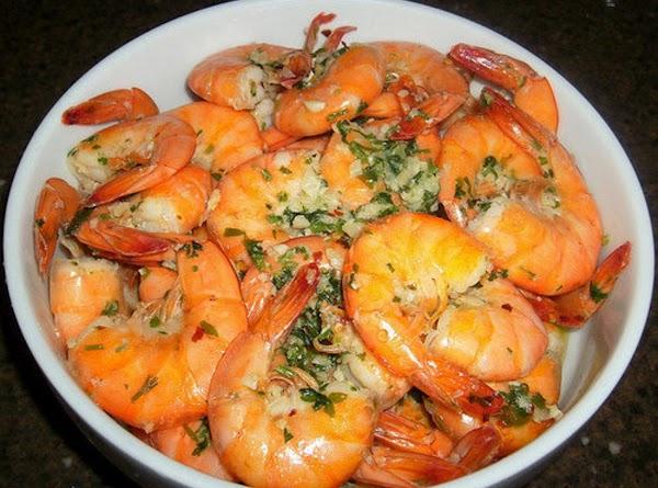 Garlic Shrimp: shrimp, fresh garlic, italian parsly, seafood seasoning, lemon zest, crushed red pepper,...
