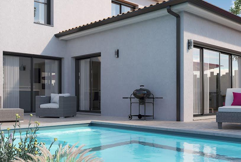 Vente Terrain + Maison - Terrain : 1000m² - Maison : 148m² à Saint-Mars-de-Coutais (44680)