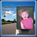 hoarding frame photo icon