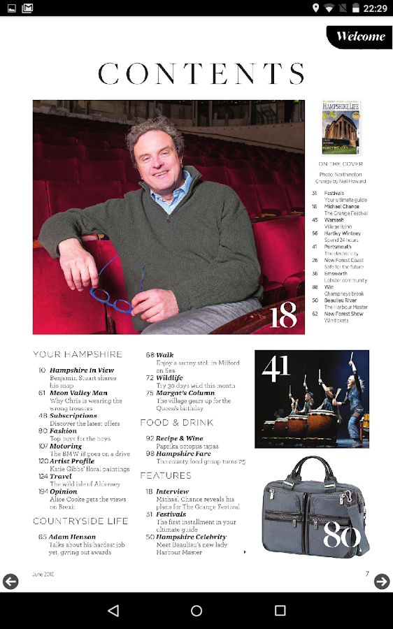 Hampshire Life Magazine- screenshot