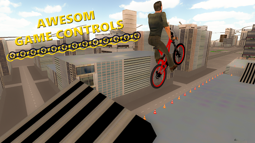 BMX RoofTop Bicycle Tricks 1.4 Mod screenshots 3
